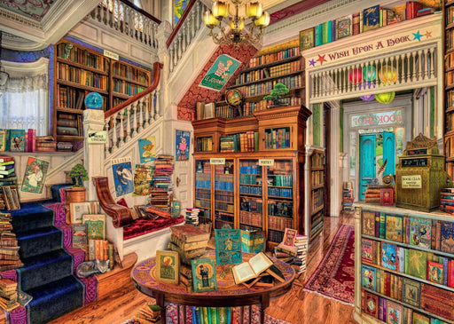 Jigsaw Puzzle - The Fantasy Bookshop 1000 Piece Jigsaw Puzzle