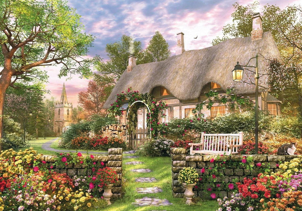 The Whitesmith's Cottage 1000 Piece Puzzle - All Jigsaw Puzzles UK  - 1
