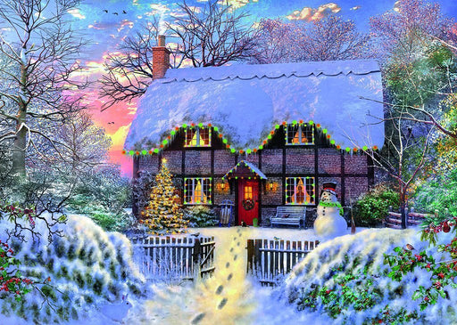 Jigsaw Puzzle - The Writer's Cottage 1000 Piece Jigsaw Puzzle