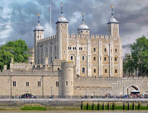 Jigsaw Puzzle - Tower Of London 1000 Or 500 Piece Jigsaw Puzzles