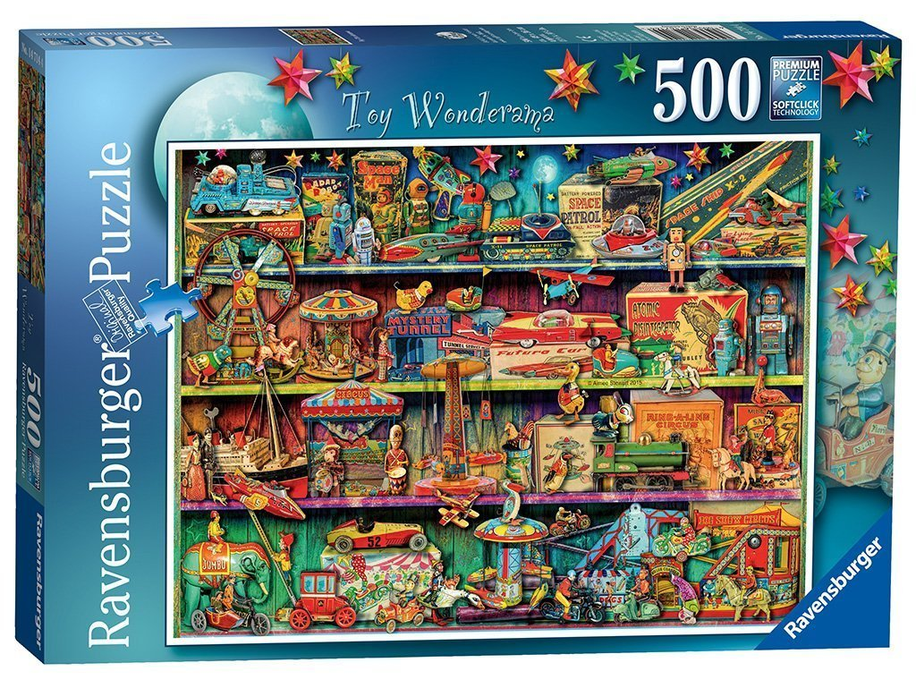 Jigsaw Puzzle - Toy Wonderama 500 Piece Jigsaw Puzzle