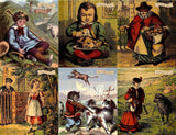 Jigsaw Puzzle - Traditional Nursery Rhymes Montage 1000 Or 500 Piece Jigsaw Puzzle