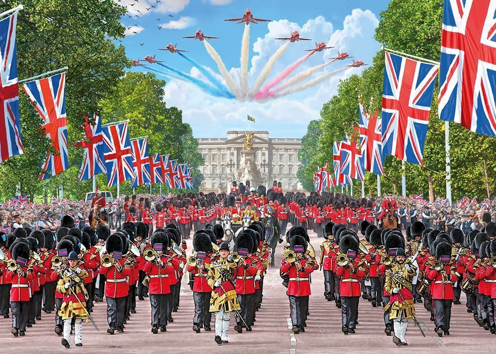 Jigsaw Puzzle - Trooping The Colour 1000 Piece Jigsaw Puzzle