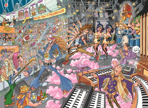 Wasgij Destiny 16: Old Time Rockers! 1000 Piece Jigsaw Puzzle - All Jigsaw Puzzles UK  - 1