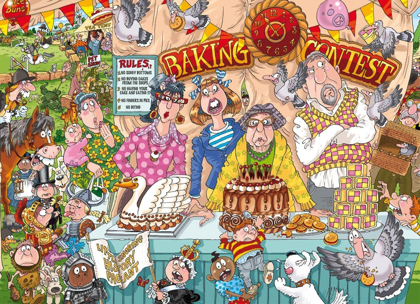 Wasgij Original 23 - The Bake Off 1000 Piece Jigsaw Puzzle - All Jigsaw Puzzles UK  - 1