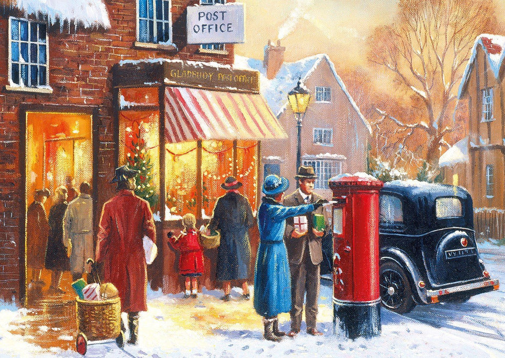 Winter about Town 4x500 Piece Jigsaw Puzzle - All Jigsaw Puzzles UK  - 4