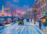 Jigsaw Puzzle - Winter In Paris 500 Piece Jigsaw Puzzle