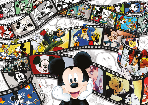 Mickey 90th Anniversary 1000 Piece Jigsaw Puzzle