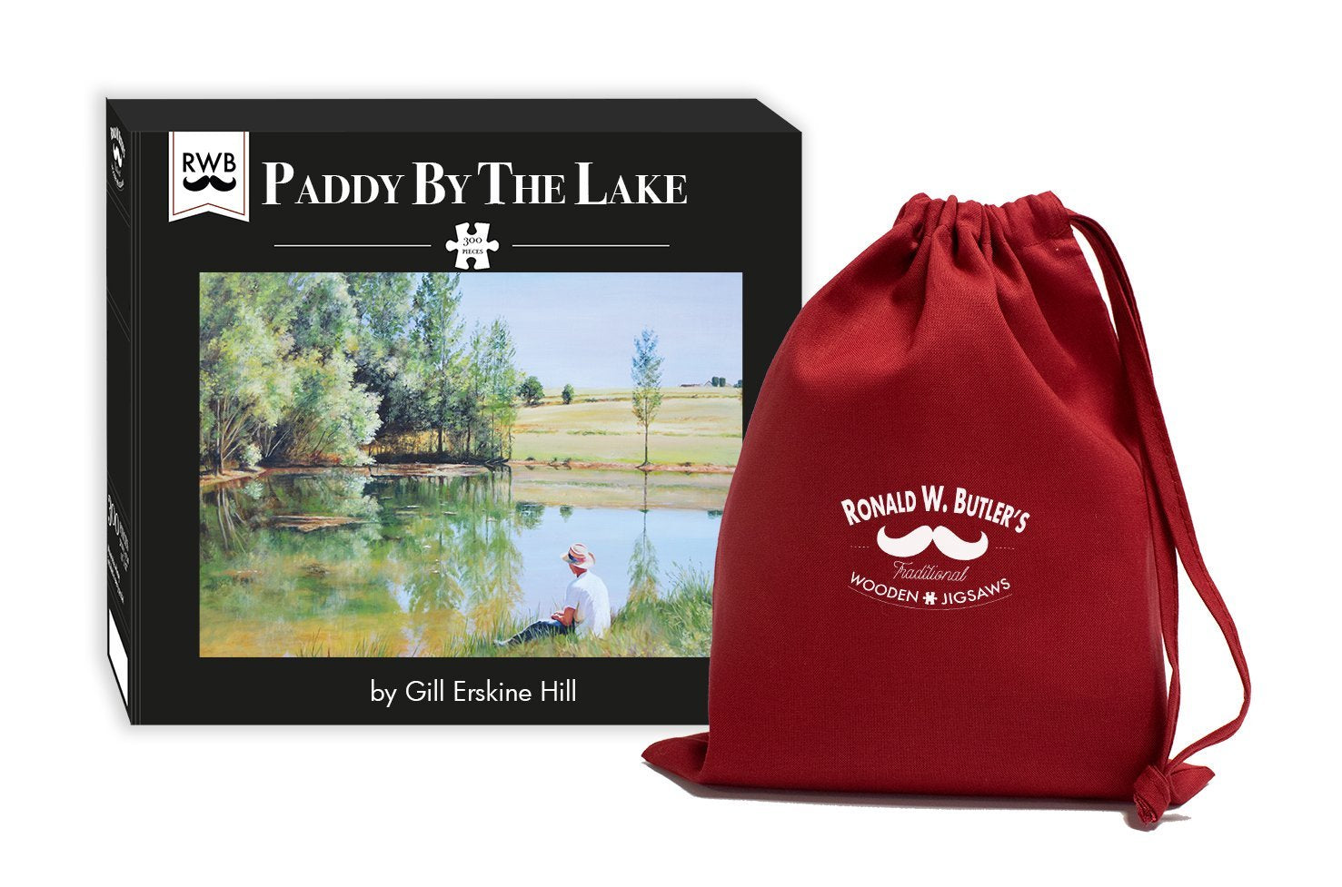 Paddy by the Lake 300 Piece Wooden Jigsaw Puzzle