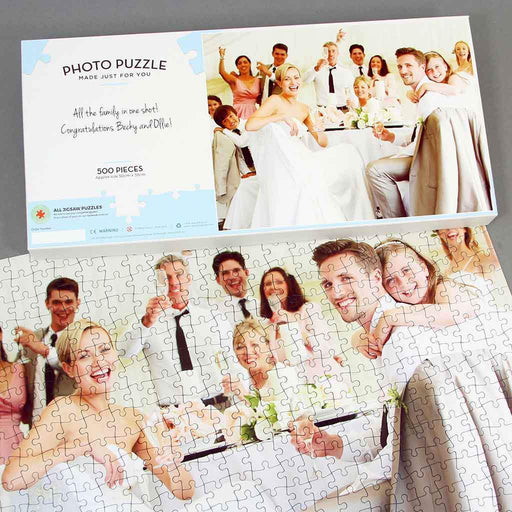 Personalised Jigsaw - Personalised 500 Piece Photo Jigsaw
