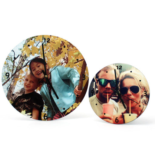 Personalised Photo Clock - All Jigsaw Puzzles UK  - 1