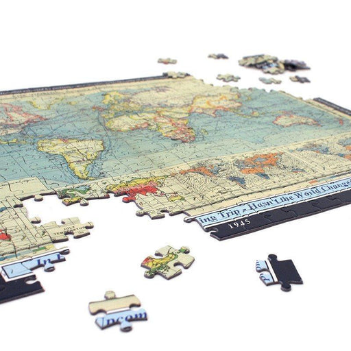 Personalised World Map Puzzle - All Jigsaw Puzzles UK  - 2