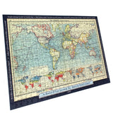 Personalised World Map Puzzle - All Jigsaw Puzzles UK  - 4