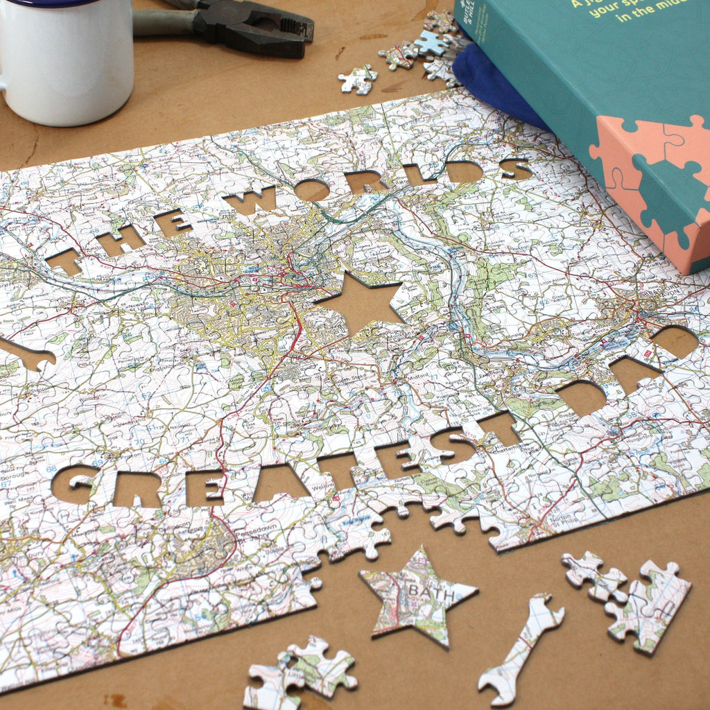 Worlds greatest dad personalised map jigsaw all jigsaw puzzles uk worlds greatest dad personalised map jigsaw gumiabroncs Choice Image