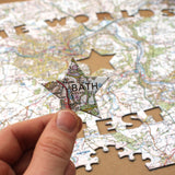 World's Greatest Dad Personalised Map Jigsaw - All Jigsaw Puzzles UK  - 3