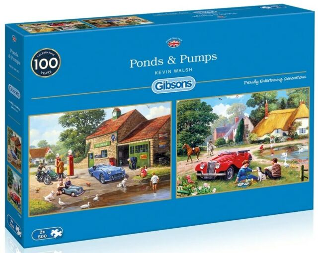 Ponds and Pumps Gibsons Jigsaw Puzzle