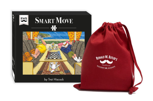 Smart Move – The Camping Collection – Trai Hiscock Wooden Jigsaw