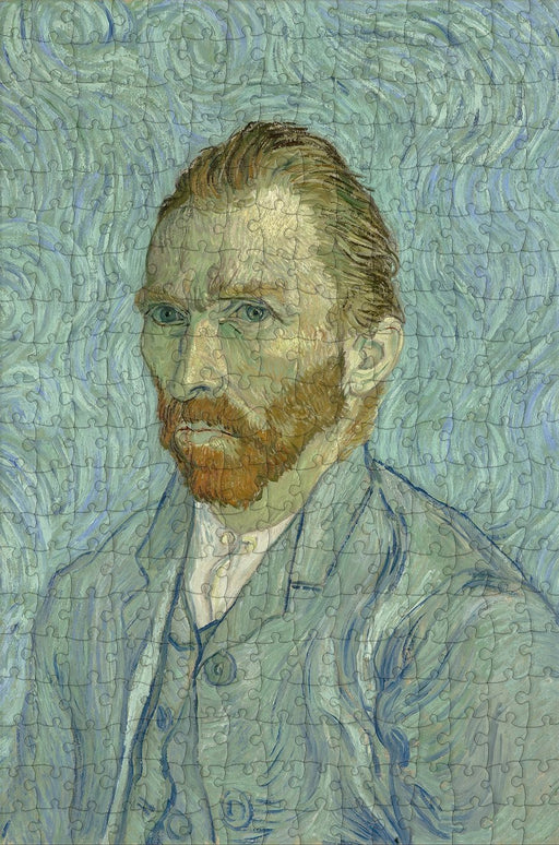 Self Portrait by Vincent van Gogh 300 Piece Wooden Jigsaw Puzzle