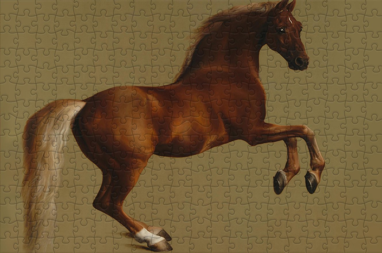 Whistlejacket - George Stubbs - 300 Piece Wooden Jigsaw Puzzle