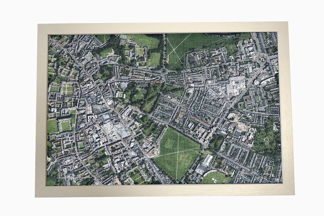 Wooden Jigsaw Puzzle Frame for Personalised 400 Piece Map Jigsaw Puzzles