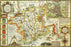 Worcestershire 1610 Historical Map 300 Piece Wooden Jigsaw Puzzle
