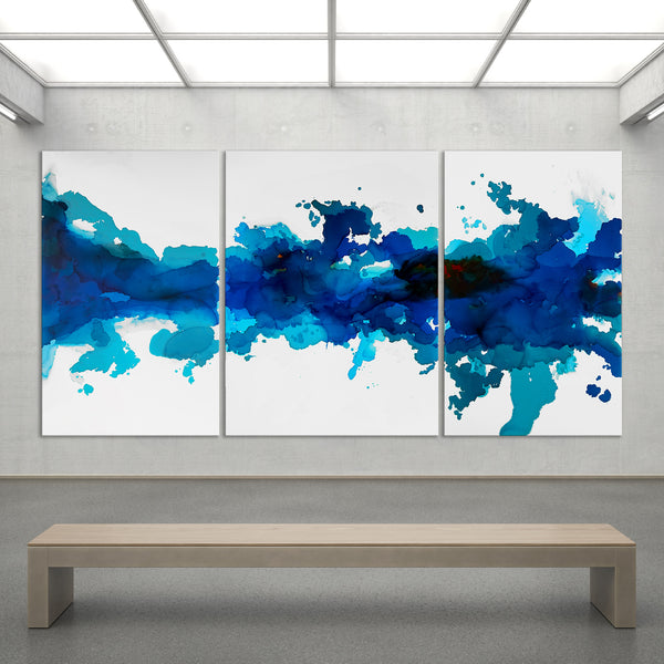 Ocean Blue -     HUGE!!!! Total Size: 8 feet wide by 4 feet tall!