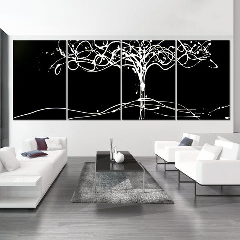 Tree of Life - Black & White