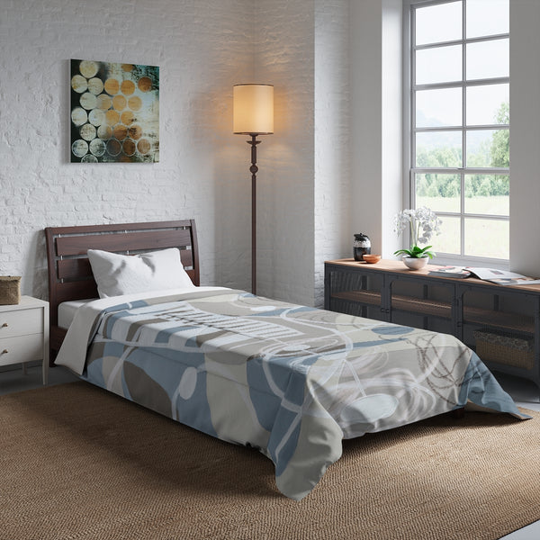 Comforter - Neutral 3 - Gray
