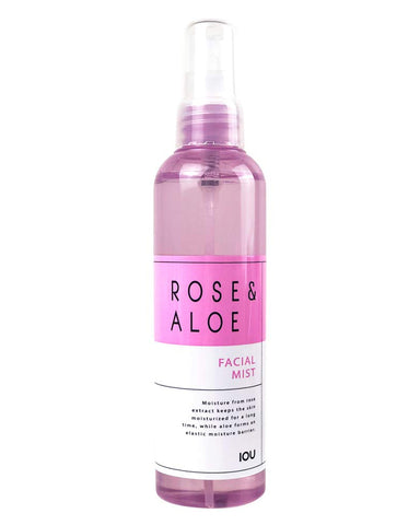 IOU Rose & Aloe Facial Mist 120ml