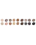 18 Color Eyeshadow Palette - Downtown Brown