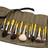 Studio The Collection 14pc. Brush Set with Roll-up Pouch