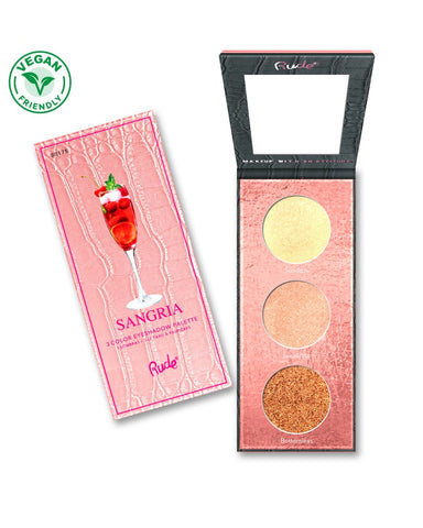 Cocktail Party Luminous Highlight / Eyeshadow Palette - Sangria