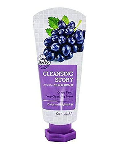Cleansing Story Grape Seed Foam Cleanser 120гр