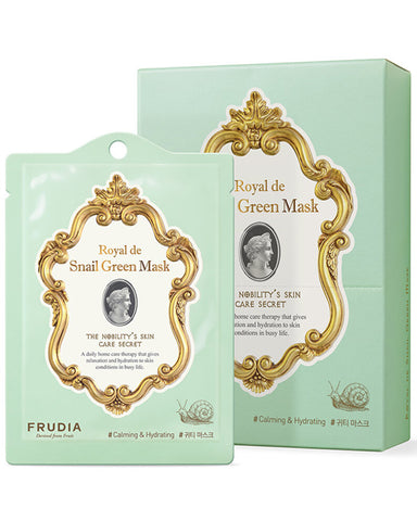 Royal de Snail Green Mask 20мл - 1ш