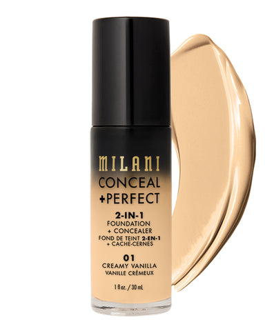 Conceal + Perfect 2-IN-1 Foundation - 8 сонголттой