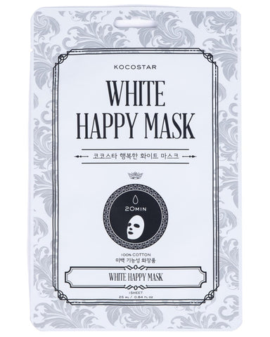 White Happy Mask 1ш