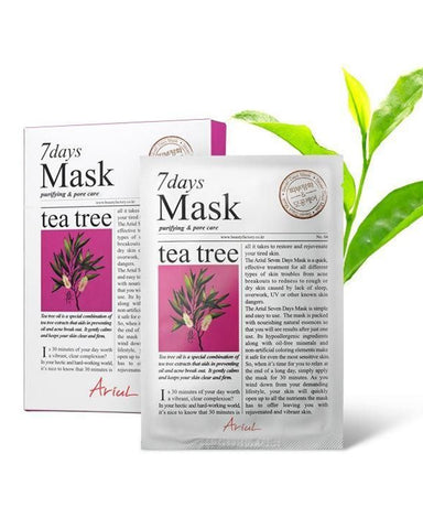 7 Days Tea Tree Clearing & Purifying Mask 10ш