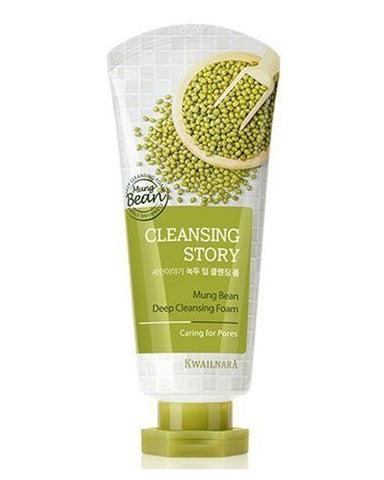 Cleansing Story Mung Bean Foam Cleanser 120гр