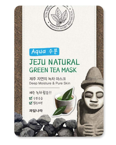 Jeju Natural Mask - Green tea