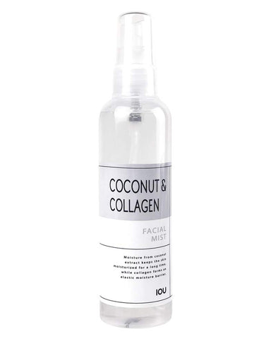 IOU Coconut & Collagen Facial Mist 120ml