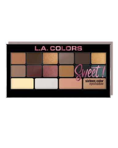 SWEET! 16 Color Eyeshadow - Seductive