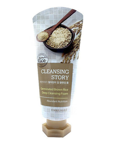 Cleansing Story Germinated Brown Rice Foam Cleanser 120гр