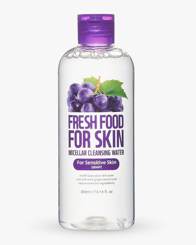 Freshfood Micellar Cleansing Water - Grape