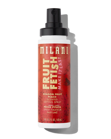 Fruit Fetish Setting Spray 60ml - Peach, Dragon Fruit
