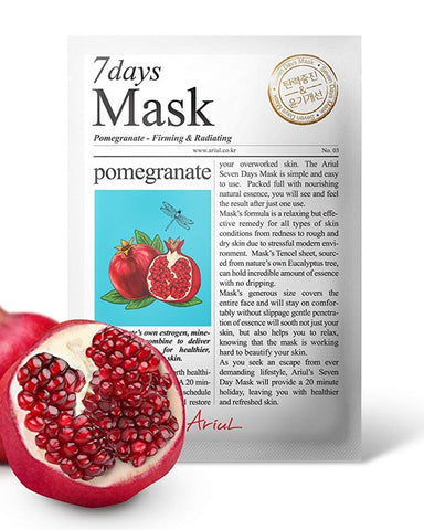 7 Days Pomegranate Firming & Radiating Mask 1ш