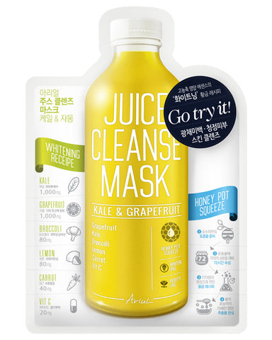 Juice Cleanse Kale & Grapefruit Mask 1ш