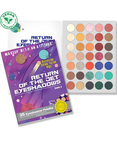 Return of the Jet Eyeshadows - Book 4
