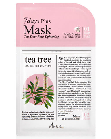 7 Days Plus Tea Tree Pore Tightening Mask 1ш