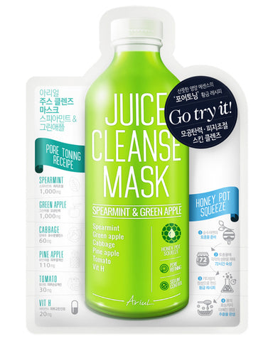 Juice Cleanse Spearmint & Green Apple Mask 1ш