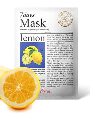 7 Days Lemon Brightening & Smoothing Mask 1ш